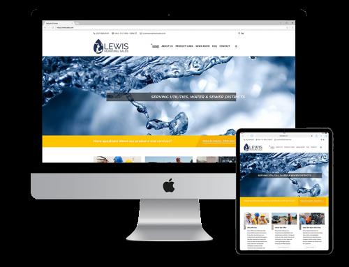 Lewis Sales Website